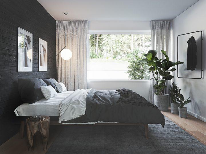 Kaksio | Makuuhuone